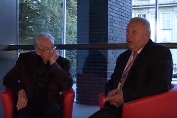 Jerzy Stuhr interview Andrzej Wajda